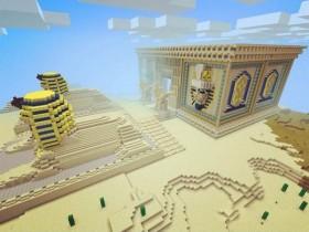 失落的奥西里斯神殿建筑欣赏 我的世界建筑欣赏