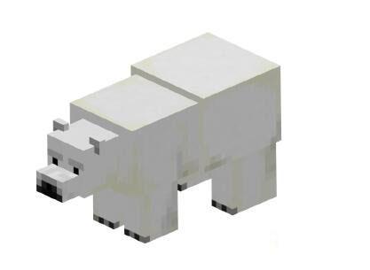 我的世界北极熊 寒冷地区生成生物