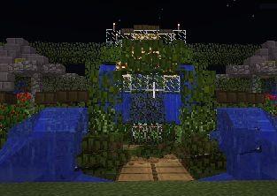 我的世界花园怎么修建?花园(公园)修建图文教程