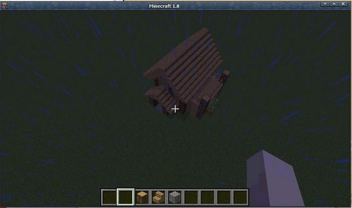 别墅型小木屋 我的世界木屋制作教程