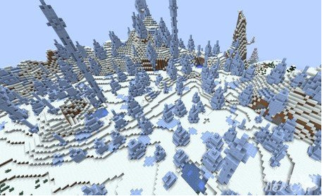 MC如何在冰原生存 出生在冻原怎么办?
