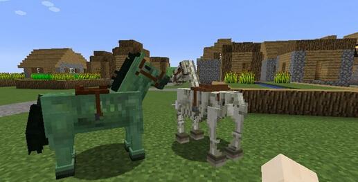 我的世界骷髅马怎么获得?怎么驯服?怎么骑?