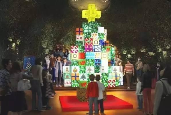 我的世界圣诞树