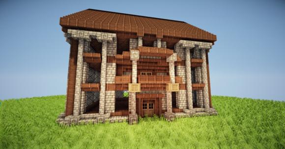 小旅馆   建筑教程