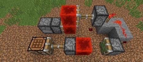 红石隐藏门制作教程 我的世界暗门怎么做