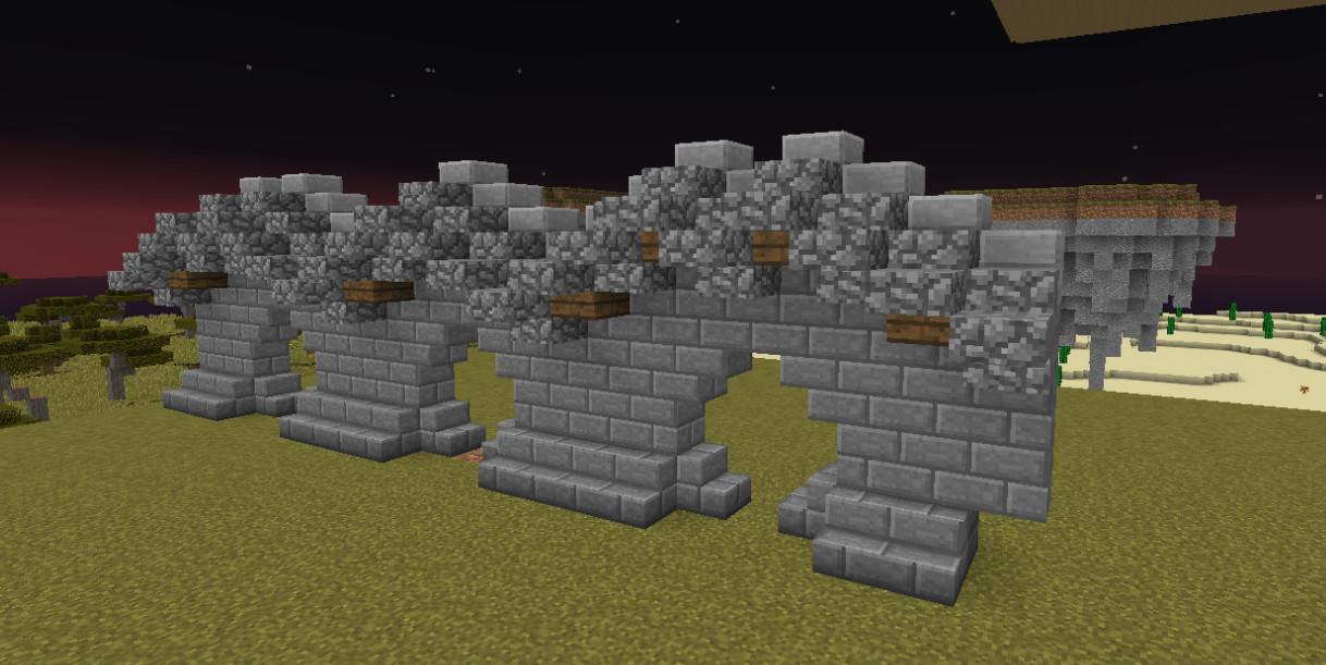 我的世界古建筑墙体介绍与做法