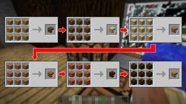 木头转换Wood Converter Mod