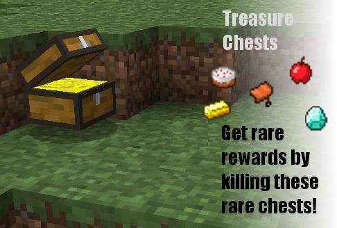 宝箱怪 TREASURE CHEST Mod   掉落宝物的怪物