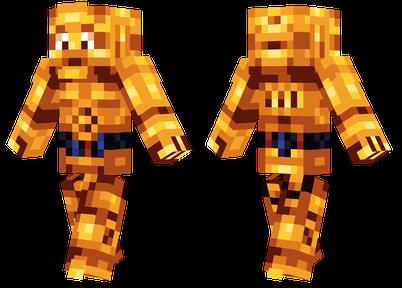 我的世界C-3PO皮肤
