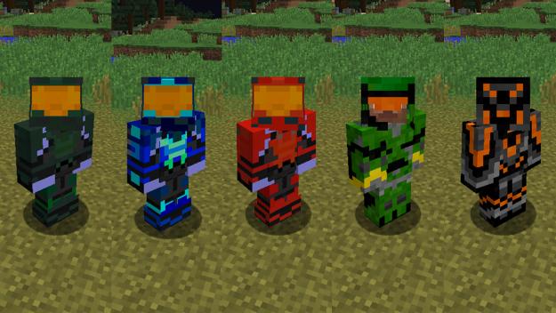 我的世界光环制造MOD——HaloCraft