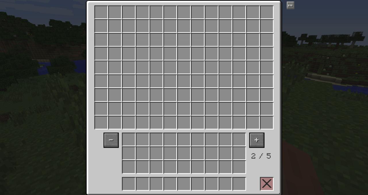 MC多页箱子Multi Page Chest Mod