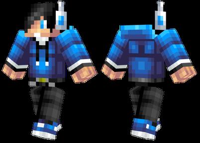蓝色男孩 身着蓝色元素的男孩