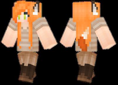 狐狸女孩 一款有趣的皮肤