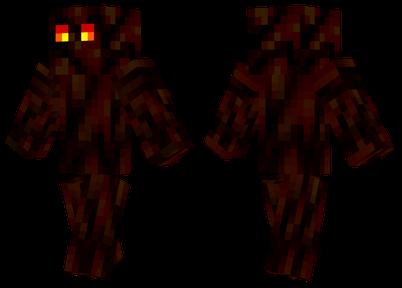 岩浆怪 一个可怕的怪物