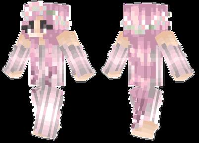 粉色系列 樱花女孩皮肤