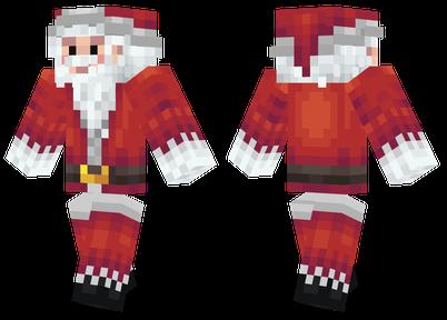 圣塔克劳斯 圣诞老人皮肤