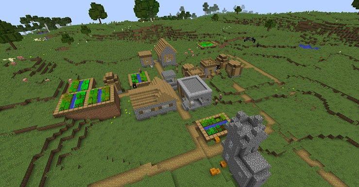 我的世界村庄出生点种子代码 1.11.2村庄