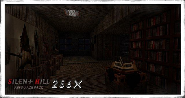 【1.7/1.6】Minecraft Silent Hill 寂静岭主题包