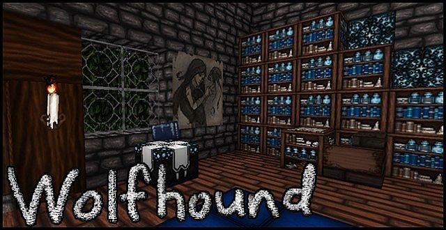 Wolfhound Dungeon哥特风 材质包