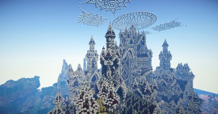 哥特式建築地图——怀旧宫殿 minecraft地图