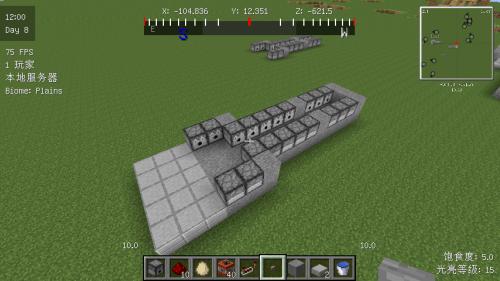 威力巨大的红石大炮 一炮发射105个TNT 我的世界大炮制作教程