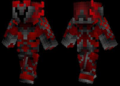 红色的盔甲