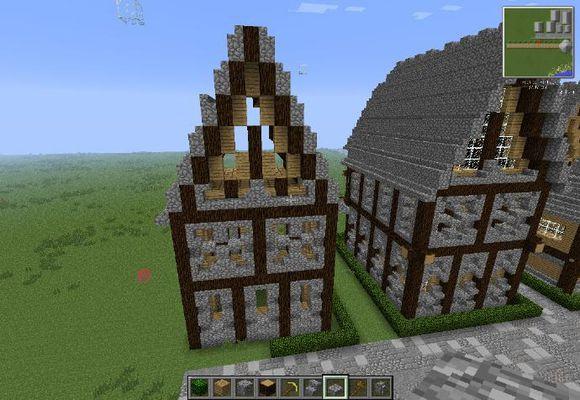 我的世界建筑生成指令 指令方块