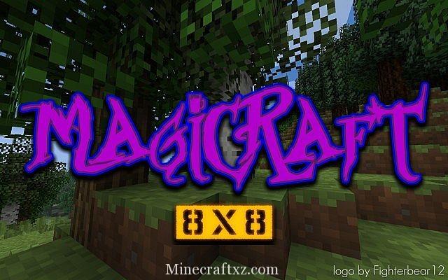 MagiCraft 8 Bit 材质包