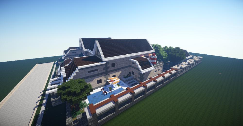 大型别墅 我的世界别墅欣赏