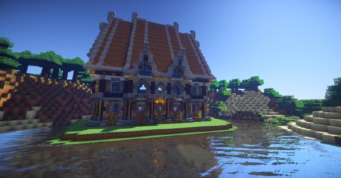 中世纪酒馆 高大上的酒馆 我的世界如何制作酒馆