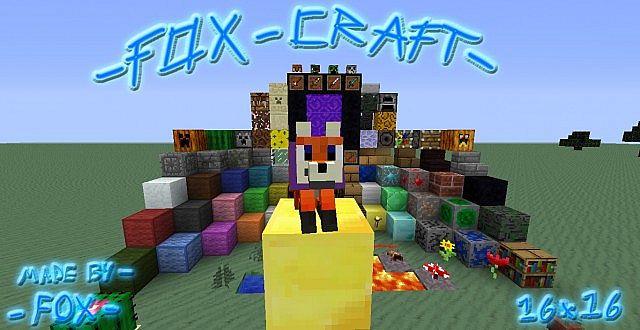 Fox Craft 可爱风 材质包
