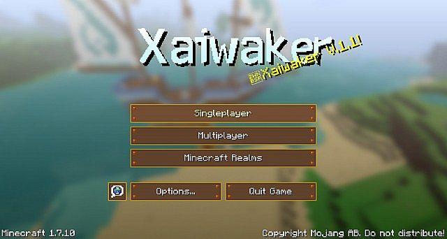 Xaiwaker Swirly 材质包