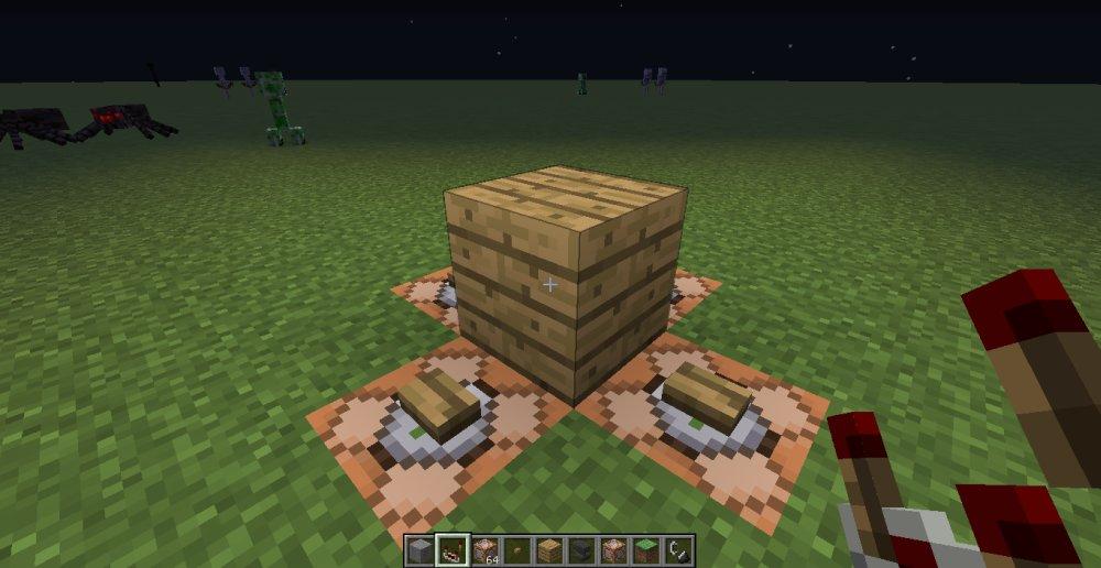 MC发光的木板制作教程