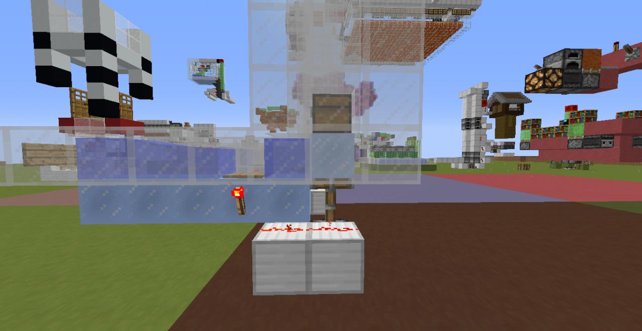 最新物品电梯 我的世界红石技巧