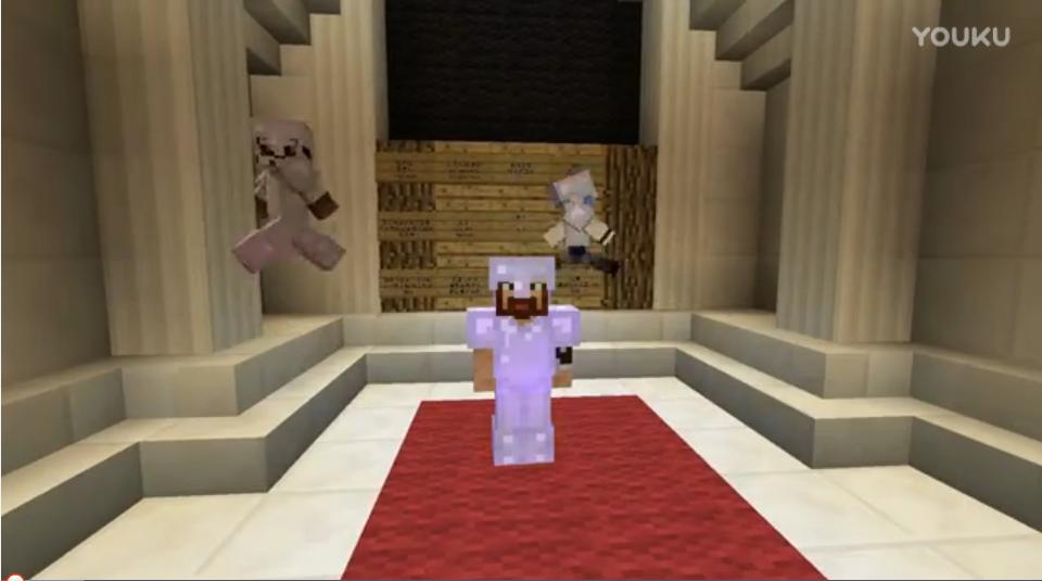 我的世界Minecraft《籽岷的1.8多人PVP 村民保卫战》