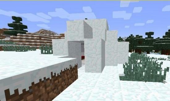 我的世界雪屋怎么寻找