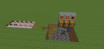 我的世界自动烤肉机教程