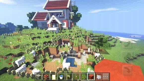 我的世界推荐建筑之复古风格的小村庄