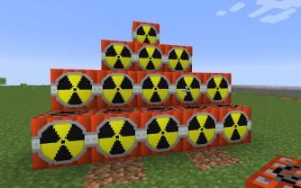Minecraft里的核弹(低配机慎用)