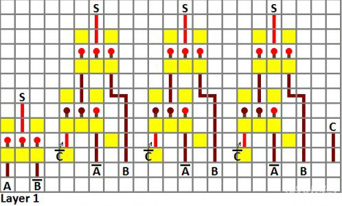 MC红石四位加法器制作攻略
