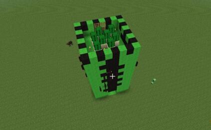 MC仙人掌模型房屋如何建造