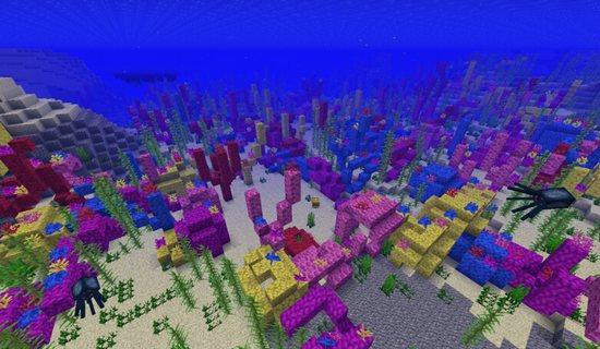 我的世界珊瑚怎么种