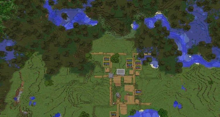 多群系大型村庄出生点种子