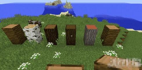 我的世界木头方块种类介绍