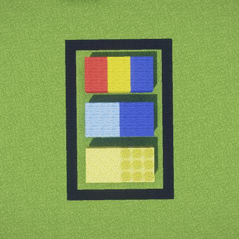 mc建筑教程 色彩与材质