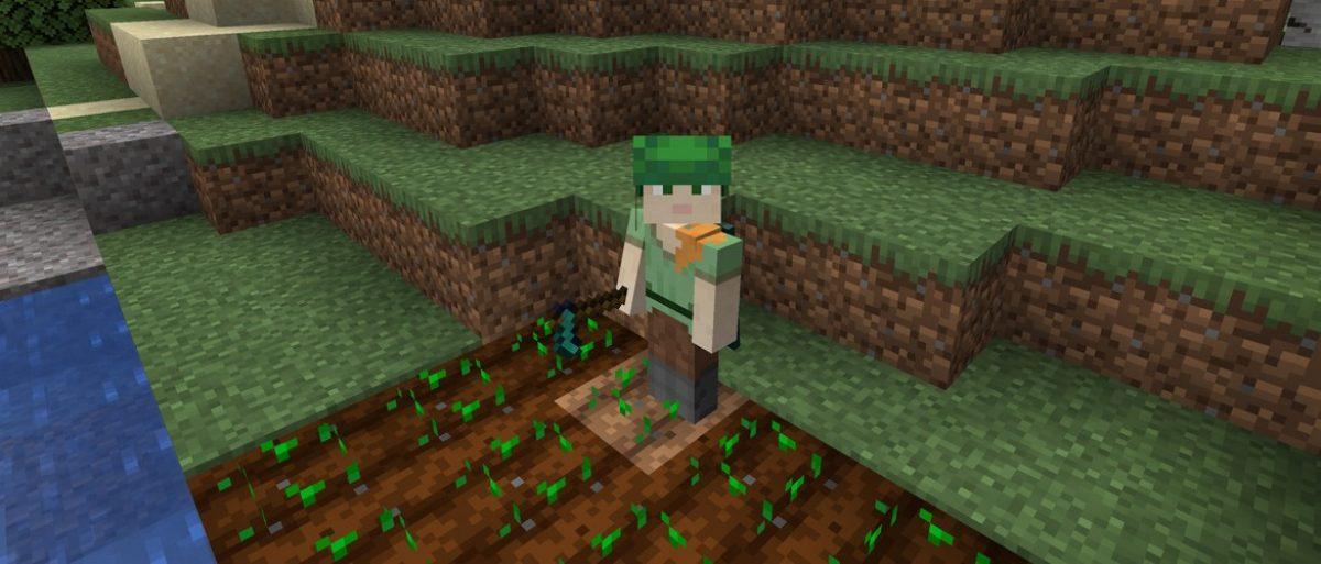 Minecraft背包盘点:锄-我的世界官方文章