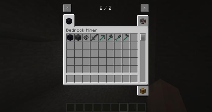基岩矿工mod 1
