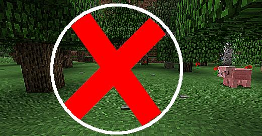 无树可撸 No Tree Punching Mod