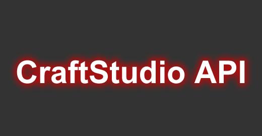 CraftStudio API