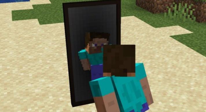玩家照镜子显示出自己的形象